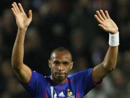 "Thierry Henry reveals his plan for winning the World Cup for France, while French supporters belt out a rendition of the Tom Jones classic ""With These Hands"""